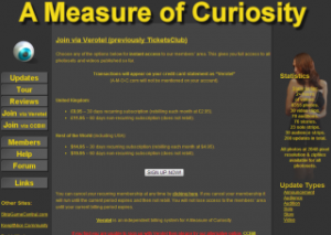 A Measure of Curiosity Join Page